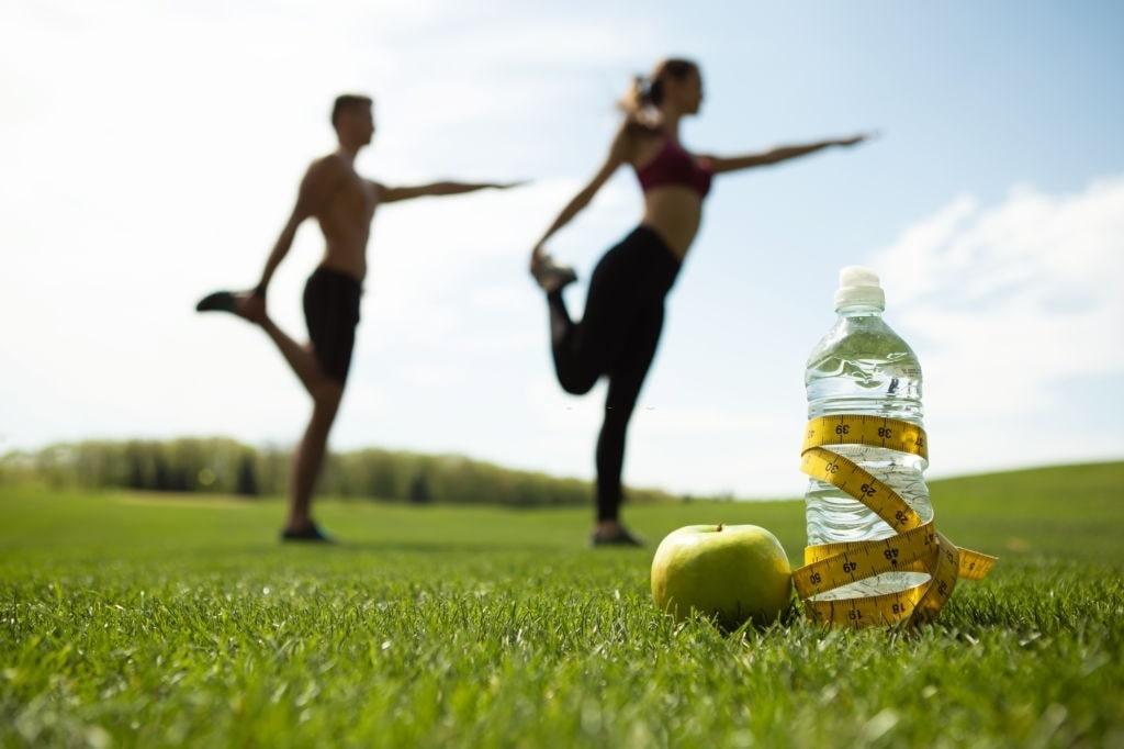 Salud, cambio físico, dieta